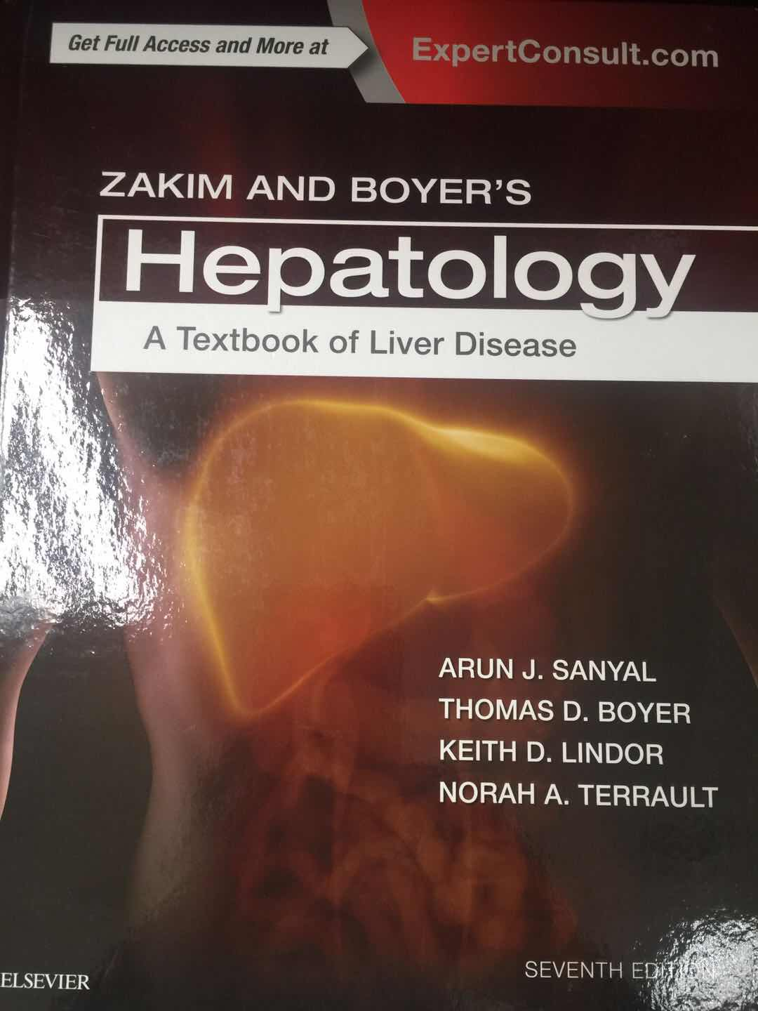《Zakim and Boyer's Hepatology:A Textbook of Liver Disease 》