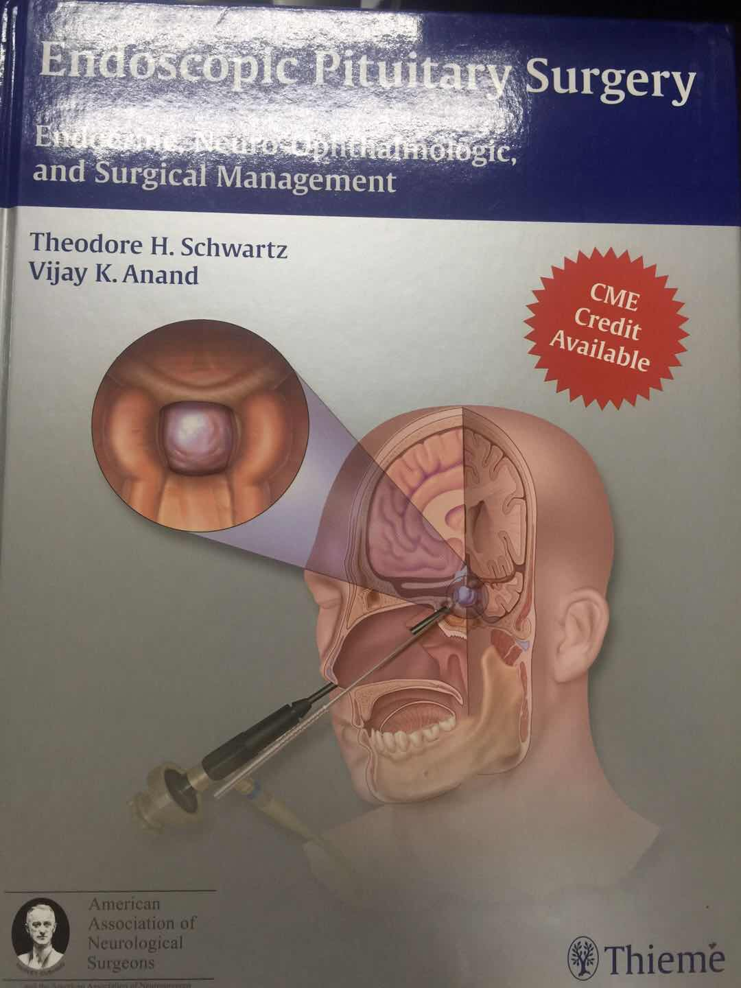 《Endoscopic Pituitary Surgery: Endocrine, Neuro-Ophthalmologic, and Surgical Management》