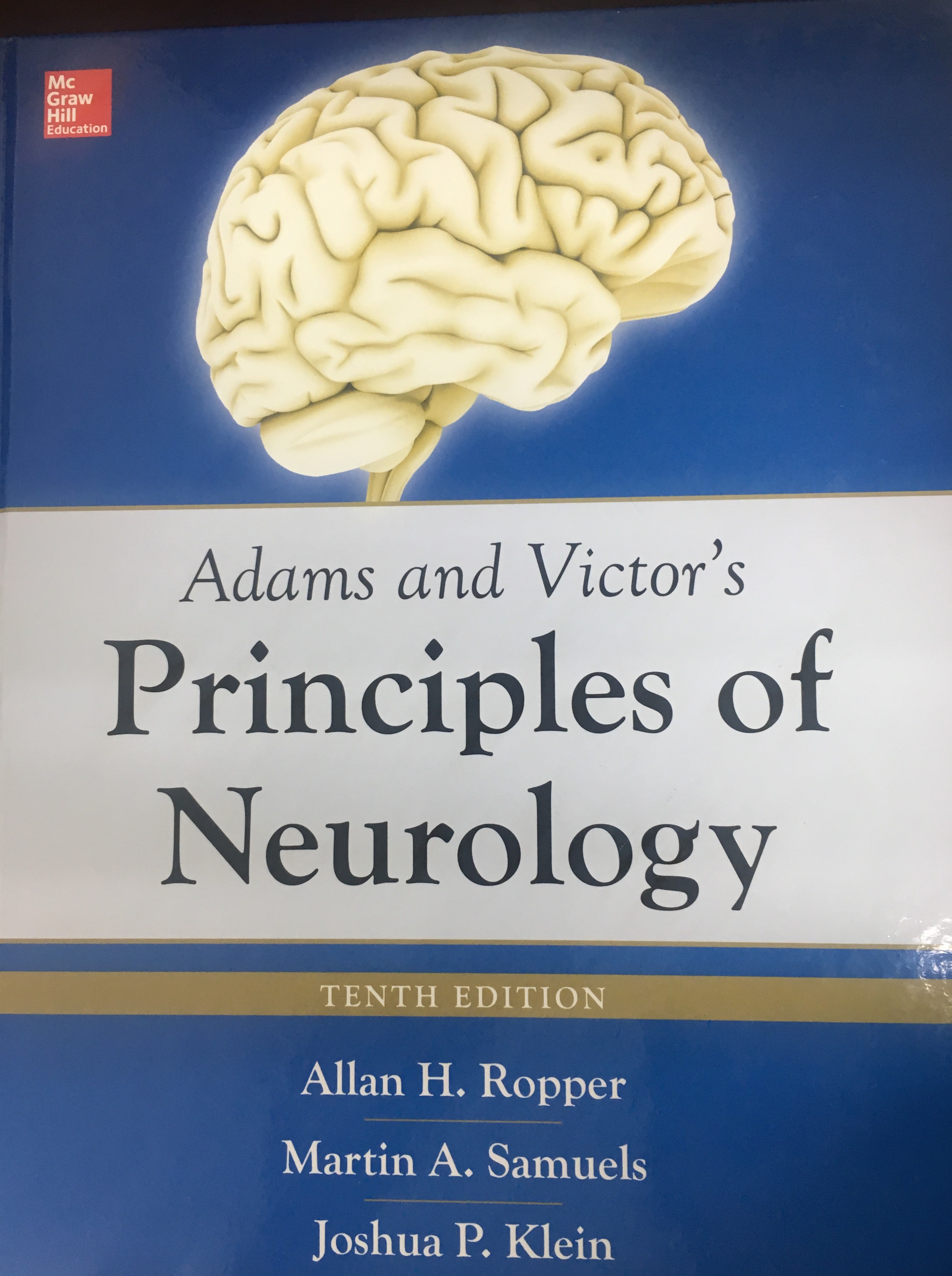 «Adams and Victor's Principles of Neurology »